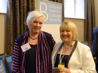 Julie Cummings in attendance at Butterwick Hospice Care event